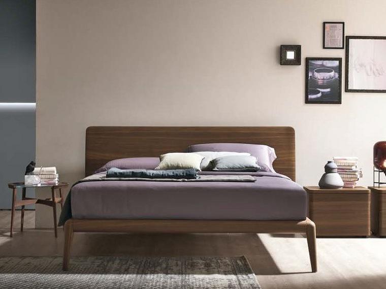 recamaras modernas de madera-cama-matrimonial
