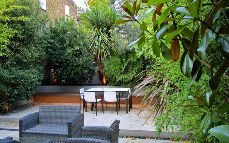 Patios modernos pequeños – ideas para decorar y embellecer su patio