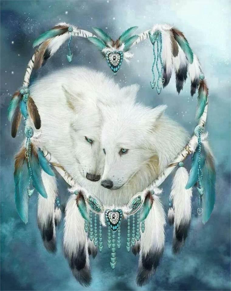 Lobos en la cultura nativa americana
