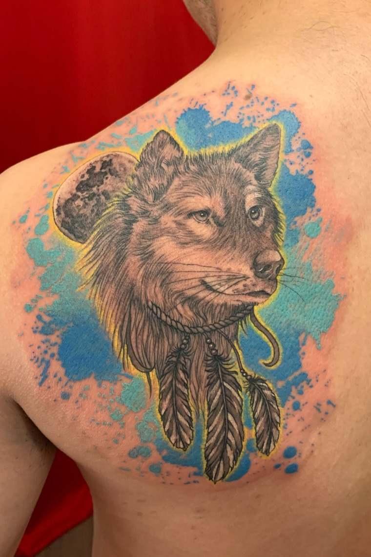 tatuajes de lobos sueños