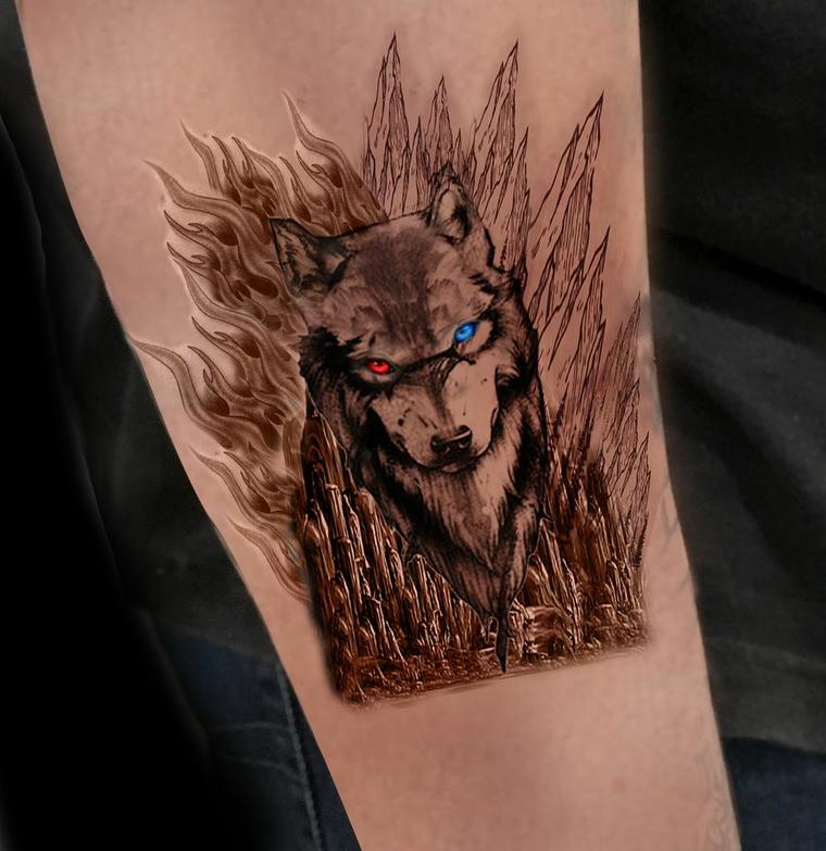 tatuajes de lobos temor (1)