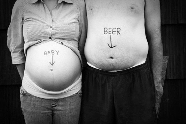 vientres hombre y mujer