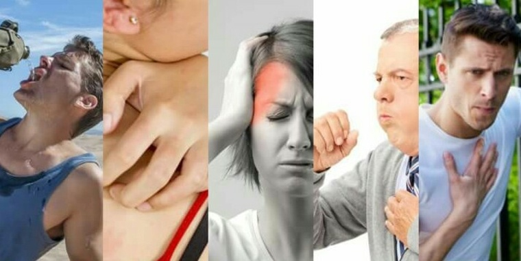 aire acondicionado causante tos