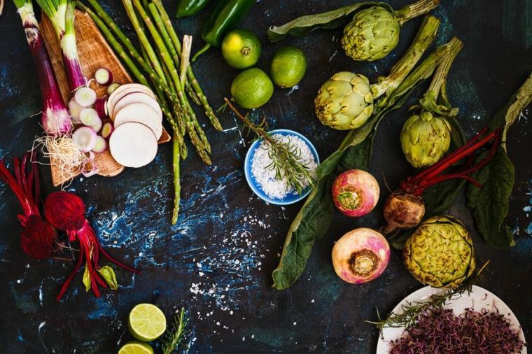 verduras sanas keto