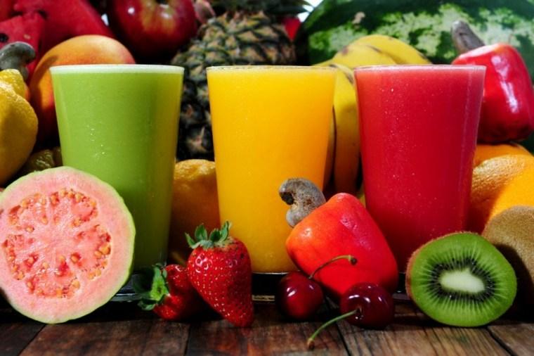 bebidas y zumos naturales