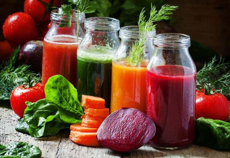 zumos naturales present