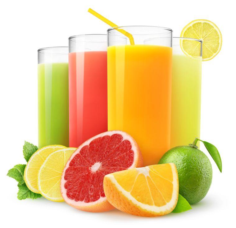 zumos naturales varios