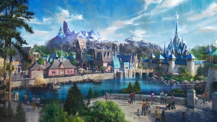 Disneyland Paris ofrece un primer vistazo impresionante a Frozen Land
