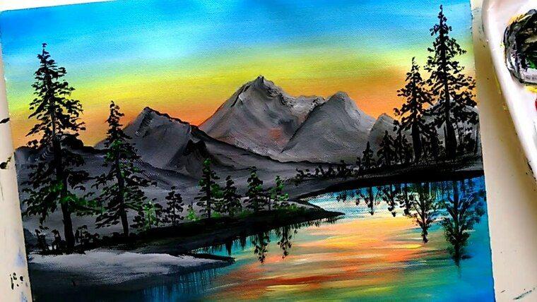 aprender a pintar agua