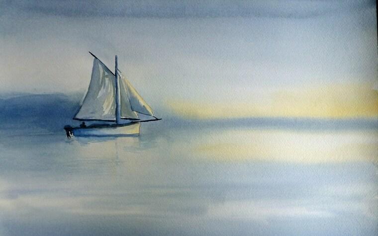 aprender a pintar barco