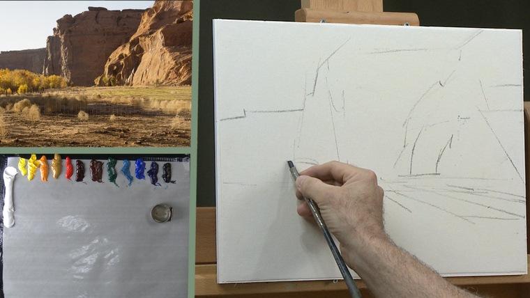 aprender a pintar bocetos