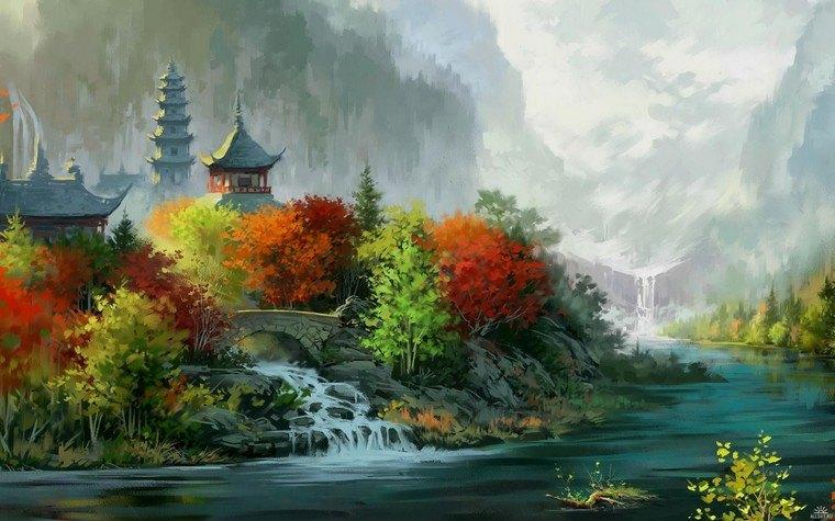 aprender a pintar castillo