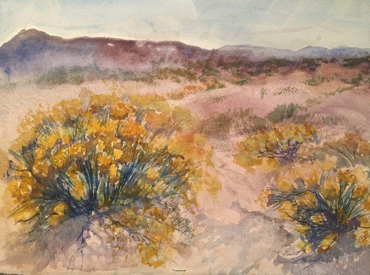 aprender a pintar desierto