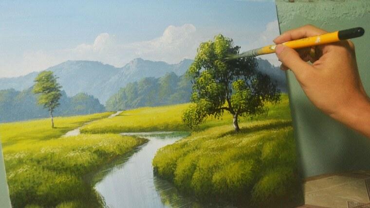 aprender a pintar facil