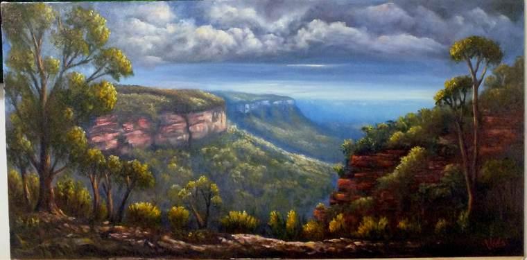aprender a pintar paisajes