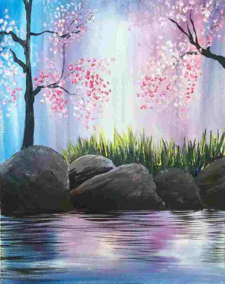 aprender a pintar romantico