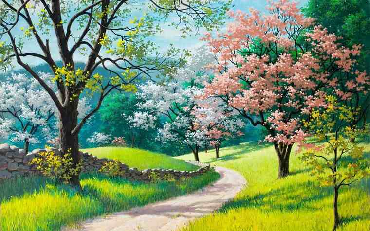 aprender a pintar rosa