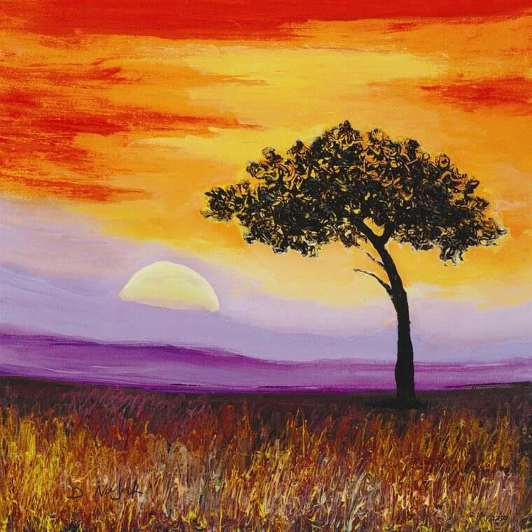 aprender a pintar sol