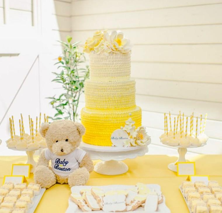 baby-shower-decoracion-amarilla
