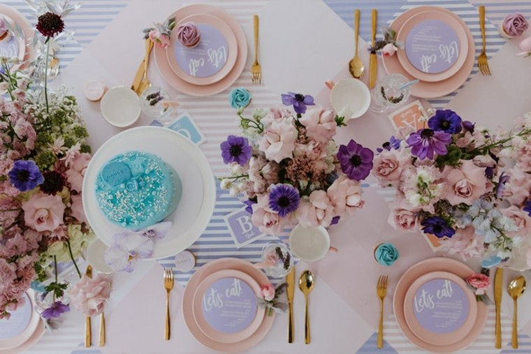 baby-shower-ideas-platos-decorar-mesa