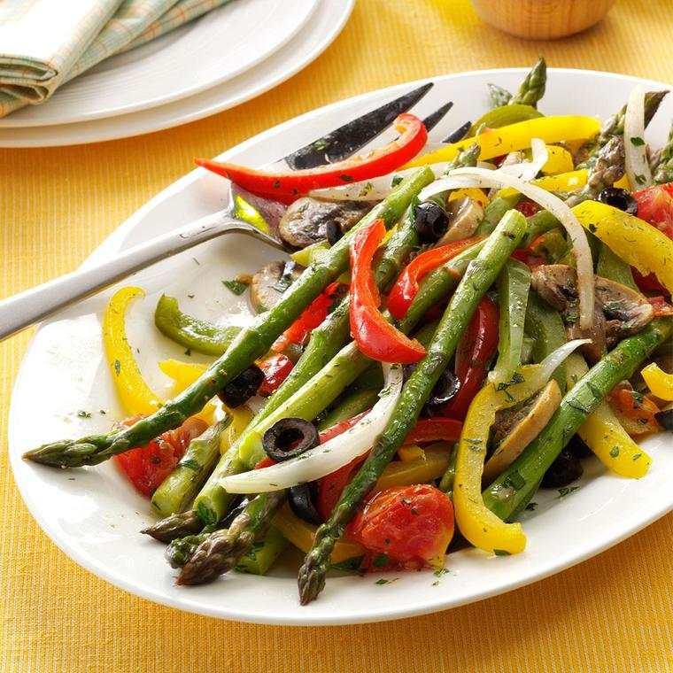 beneficios de los espárragos vegetal
