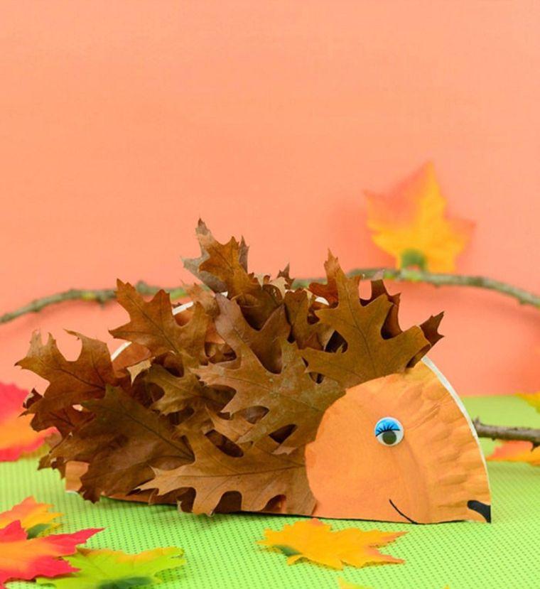 bienvenido otoño erizo