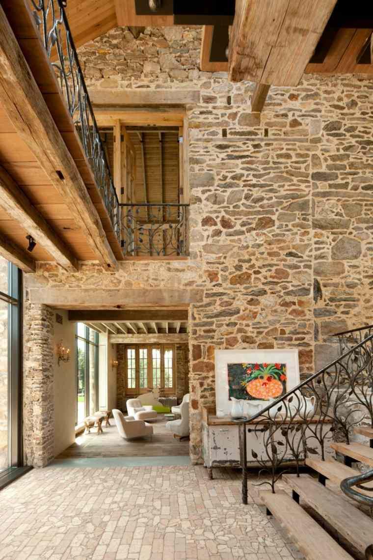 interior de piedra