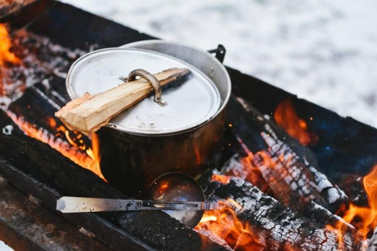 cocinar a fuego