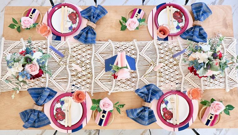 centro-mesa-ideas-otono-azul
