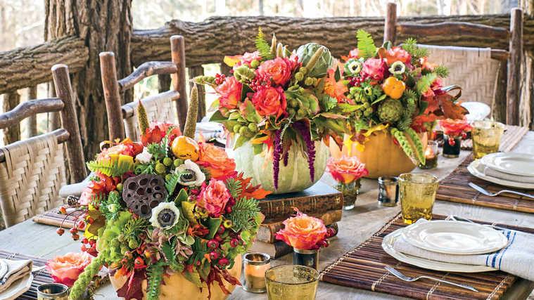 centros de mesa originales flores