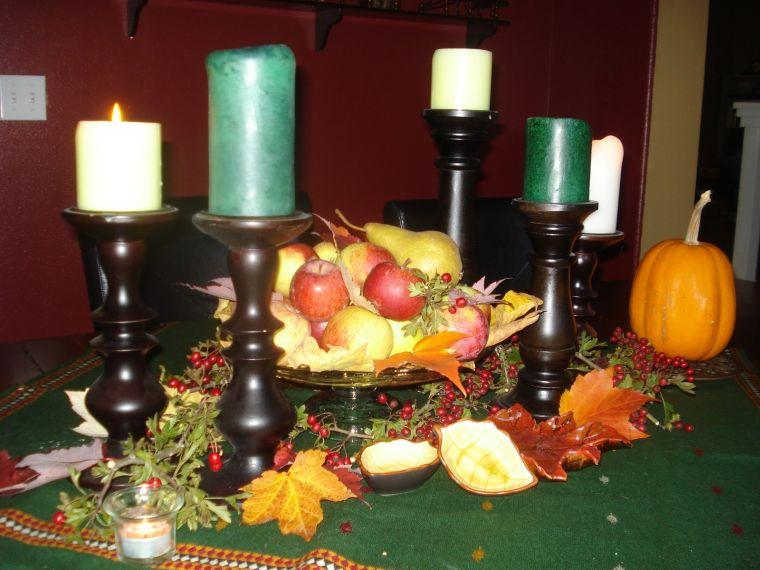 centros de mesa originales peras