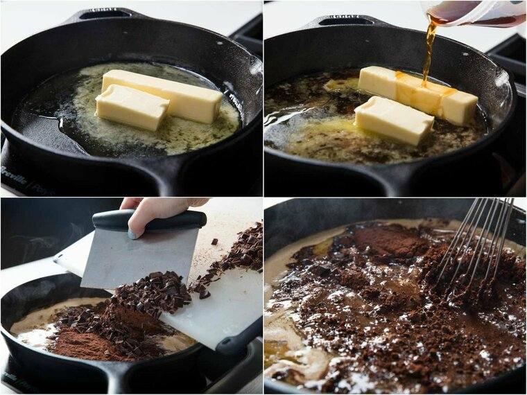 cobertura de chocolate cocina