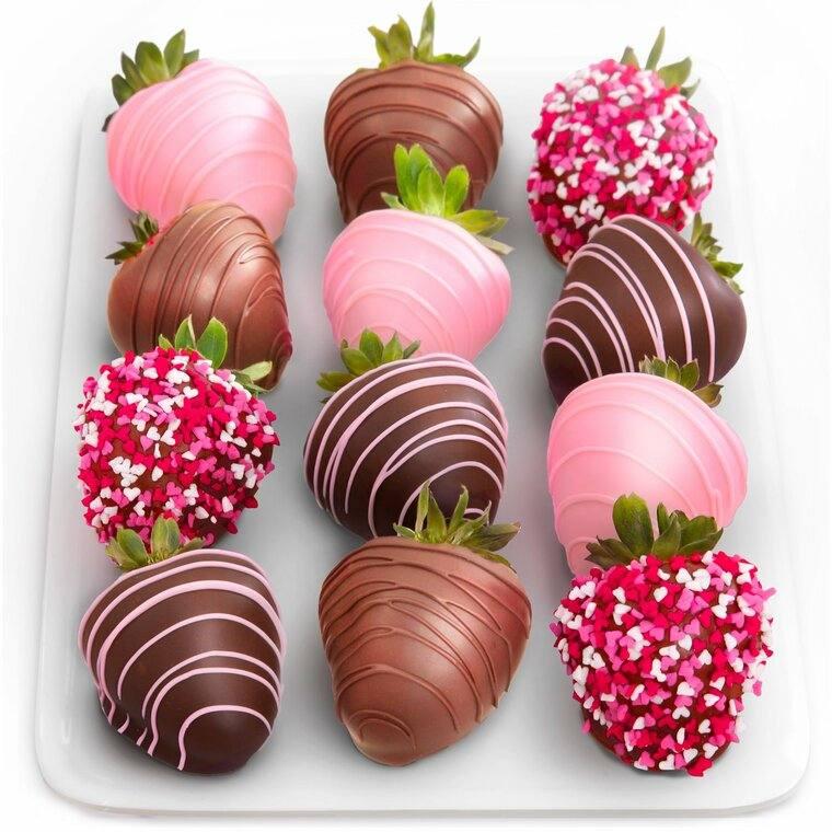 cobertura de chocolate decoradas