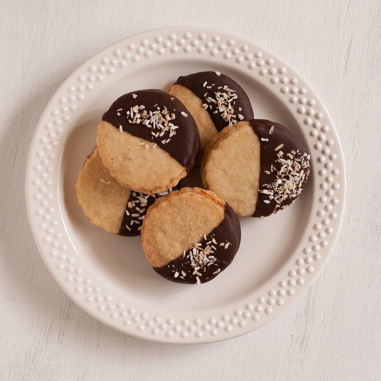cobertura de chocolate galletitas