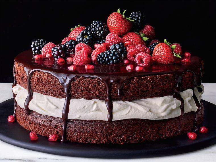 cobertura de chocolate tarta