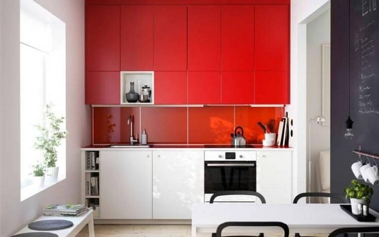cocina-color-rojo-diseno