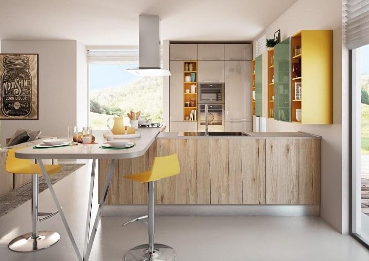 cocina-conrtemporanea-cocina-madera