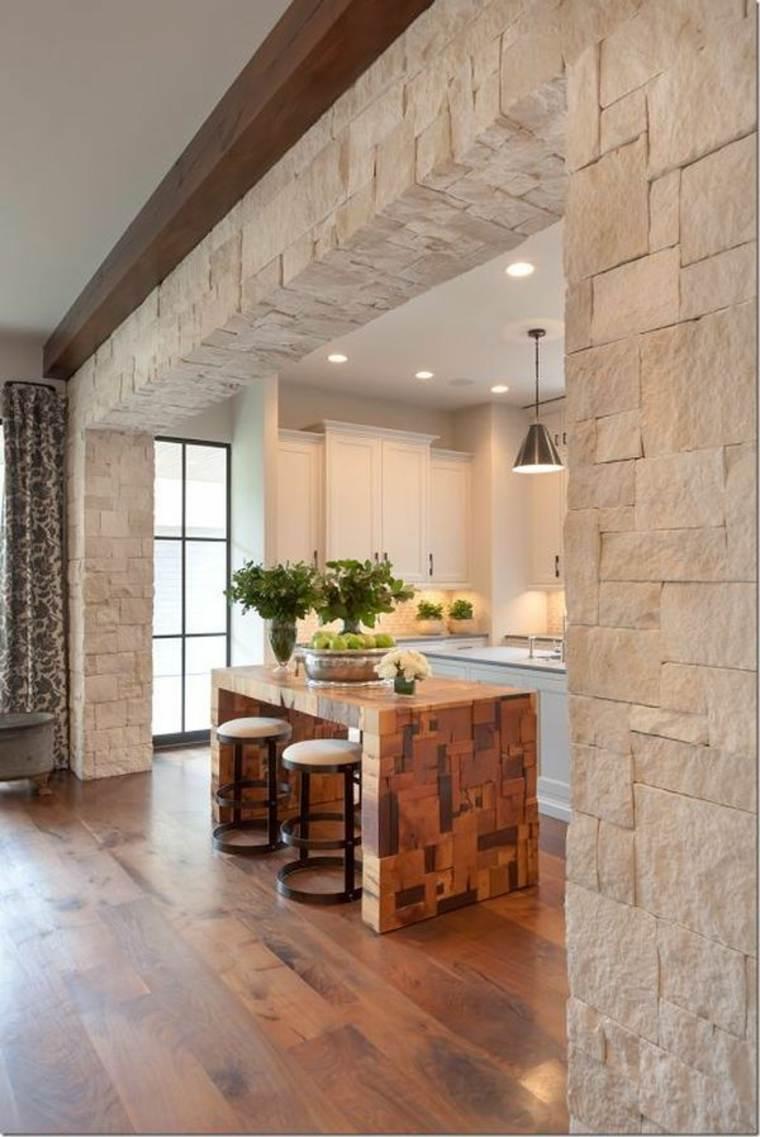 cocina de piedra
