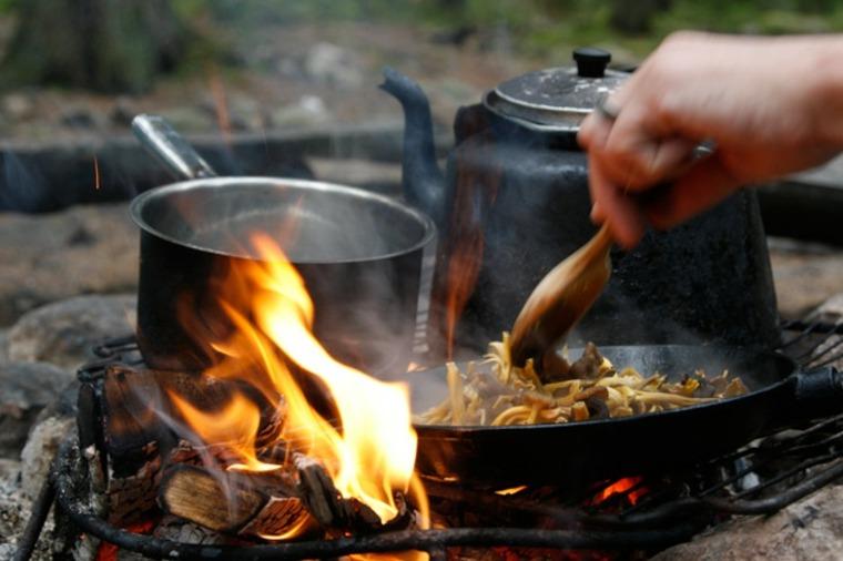 Consejos para cocinar a fuego abierto: