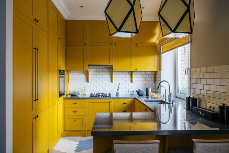 cocinas-color-amarillo-diseno
