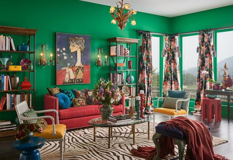 color-verde-paredes-estilo-sala