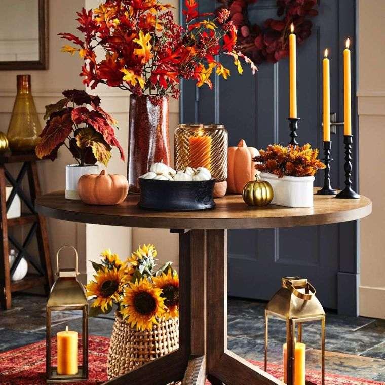 colores de otoño decoracion
