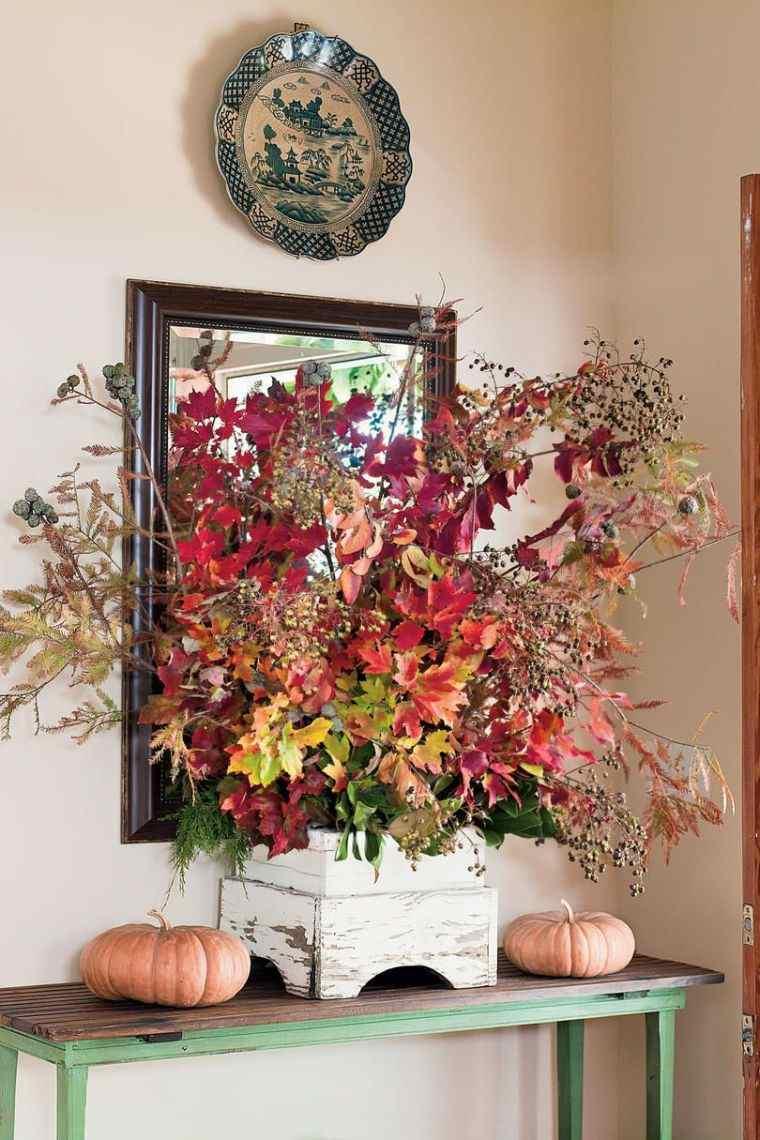 colores de otoño follaje