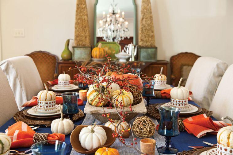 colores de otoño mesa