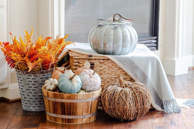 colores de otoño pintura