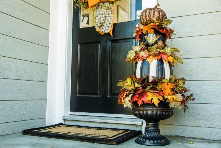 colores de otoño topiario