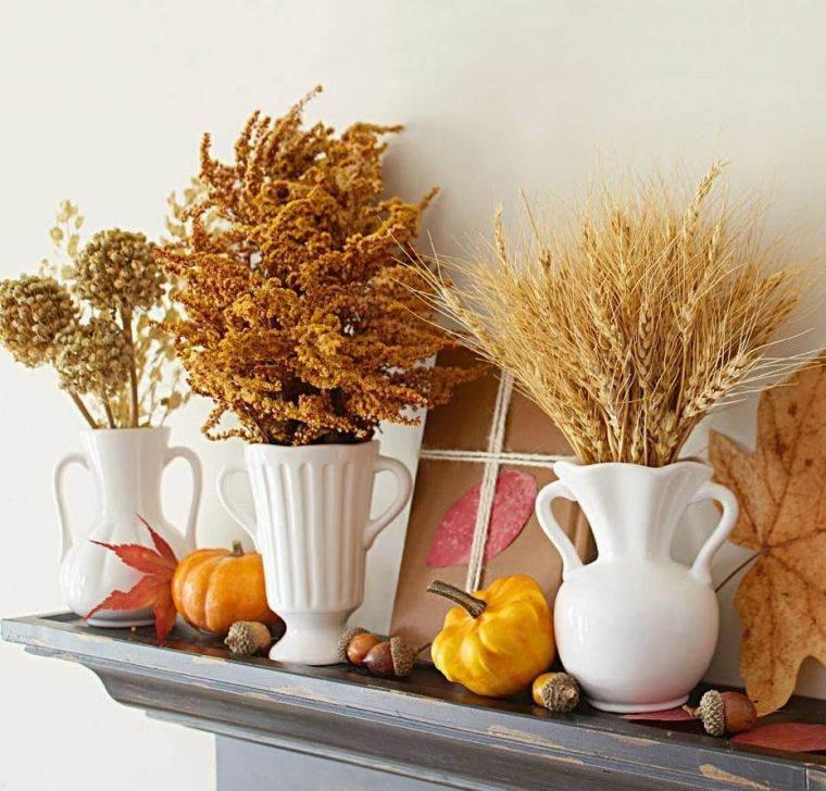 colores de otoño trigo