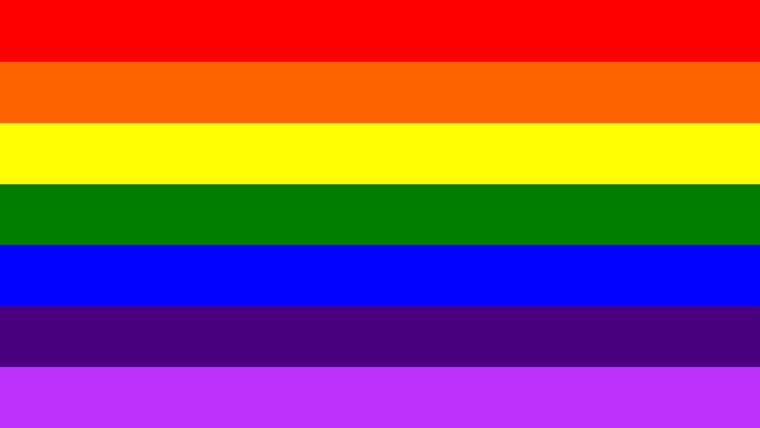 colores del arcoiris bandas