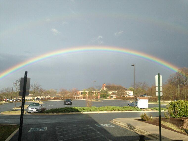 colores del arcoiris calle