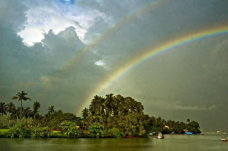 colores del arcoiris cielo